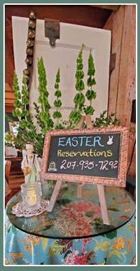 Easter Reservations